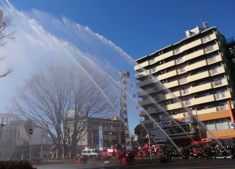 小平市消防団出初式_f0059673_2347237.jpg