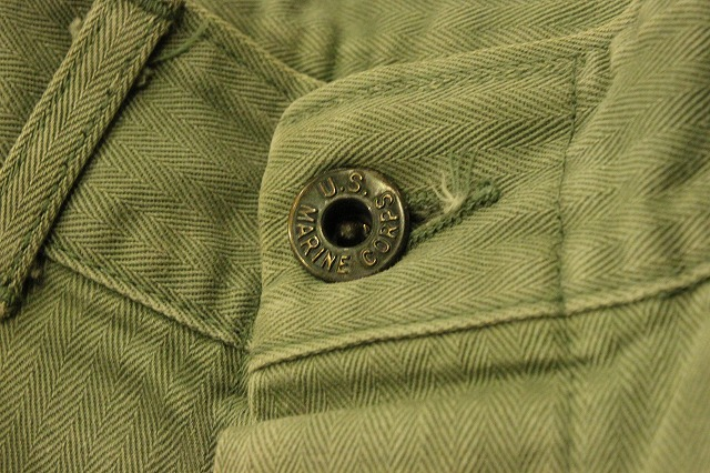 USMCのヘリンボーンパンツ。_d0121303_14102612.jpg