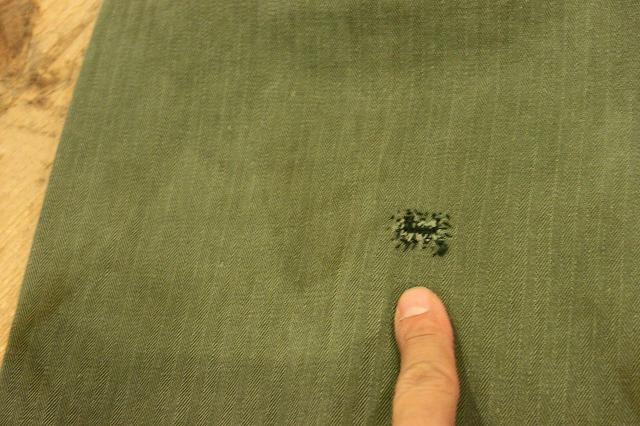 USMCのヘリンボーンパンツ。_d0121303_1423894.jpg