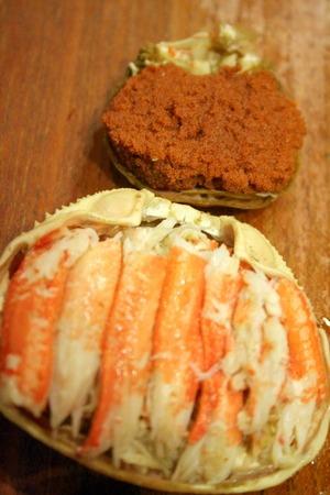 香箱蟹で、蟹飯!!_f0141419_752194.jpg
