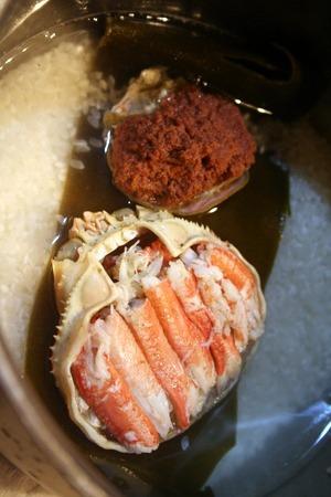 香箱蟹で、蟹飯!!_f0141419_753311.jpg