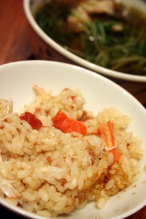 香箱蟹で、蟹飯!!_f0141419_753972.jpg