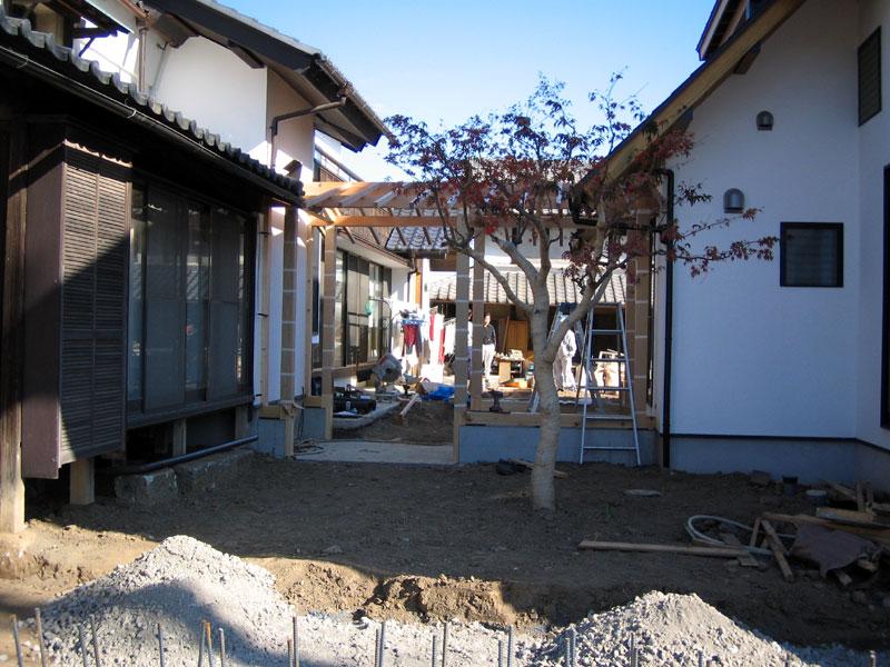 行田の家 第3期工事始まる!_a0147436_1603757.jpg