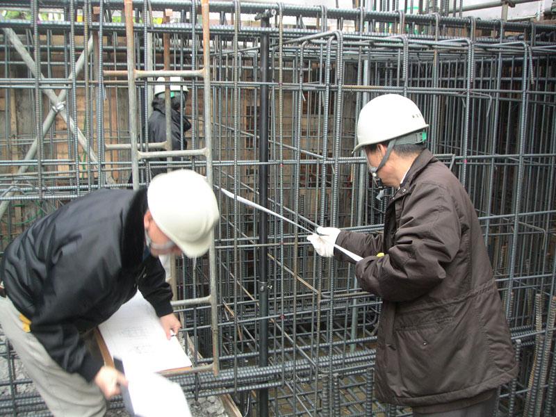 TKプロジェクト -配筋検査-_a0147436_1611242.jpg