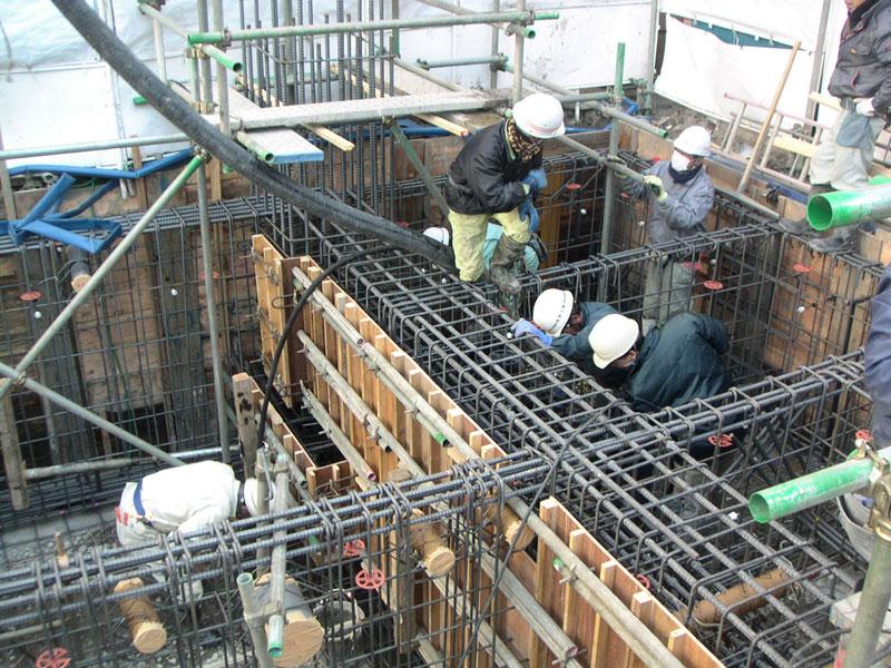 TKプロジェクト -基礎コンクリート打設-_a0147436_1611315.jpg