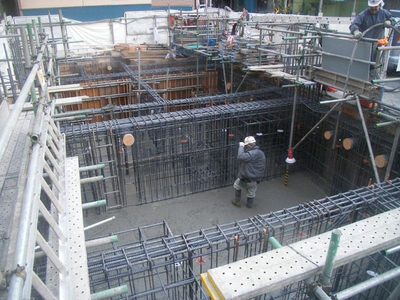 TKプロジェクト -基礎コンクリート打設-_a0147436_1611383.jpg