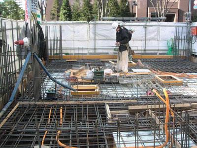 TKプロジェクト -1階床配筋検査-_a0147436_1611543.jpg