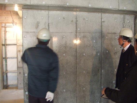 TKプロジェクト 5階壁6階床コンクリート打設_a0147436_161181.jpg