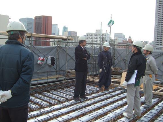 TKプロジェクト 5階壁6階床コンクリート打設_a0147436_1611834.jpg