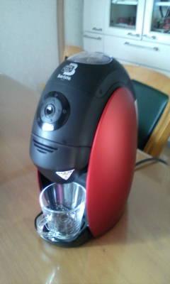 買ってもらいましたネスカフェ・バリスタ。_d0026905_1248844.jpg