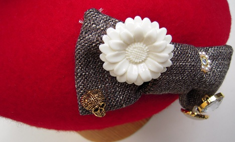 帽子作り体験教室参加作品 ☆サーティーンガーリィなベレー☆_d0189661_1651341.jpg