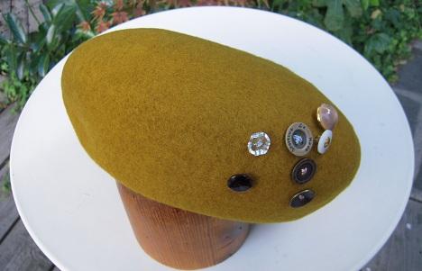 帽子作り体験教室参加作品 ☆やんちゃさんのベレー☆_d0189661_17213587.jpg