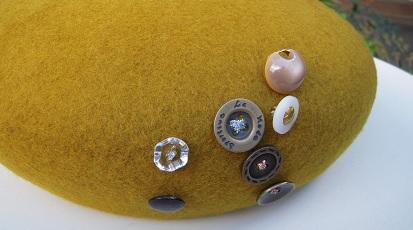 帽子作り体験教室参加作品 ☆やんちゃさんのベレー☆_d0189661_17224775.jpg