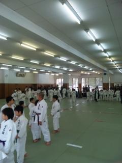 合同練習 in 久留米武道館_b0172494_1265769.jpg