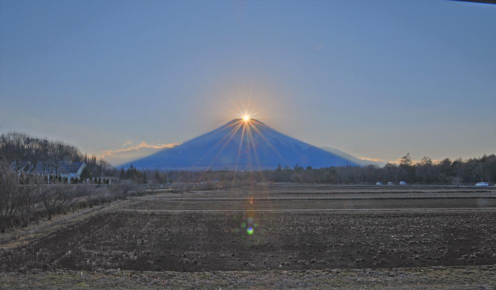山中湖村ダイヤモンド富士_a0150260_0323235.jpg