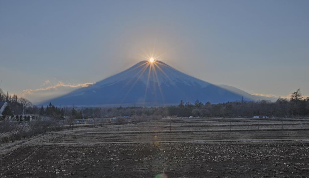 山中湖村ダイヤモンド富士_a0150260_0325191.jpg