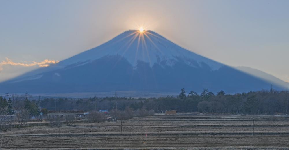 山中湖村ダイヤモンド富士_a0150260_0332430.jpg