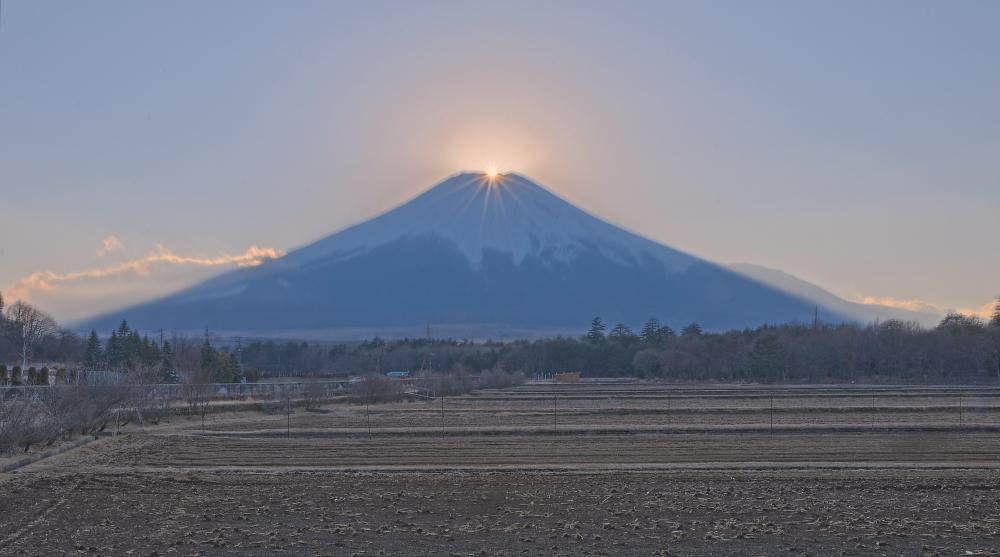 山中湖村ダイヤモンド富士_a0150260_0334047.jpg