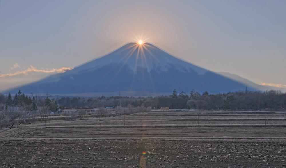 山中湖村ダイヤモンド富士_a0150260_033694.jpg