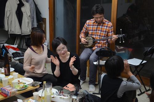 快晴のアトリエの新年会〜みんな弾けました〜!〜その2〜_c0131063_22304733.jpg