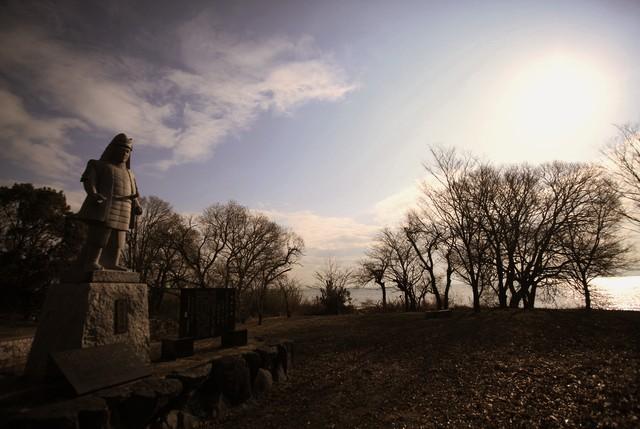坂本城を歩く_c0196076_7521690.jpg