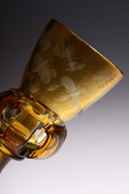 Bohemian 虫グラヴュール Glass_c0108595_4451161.jpg