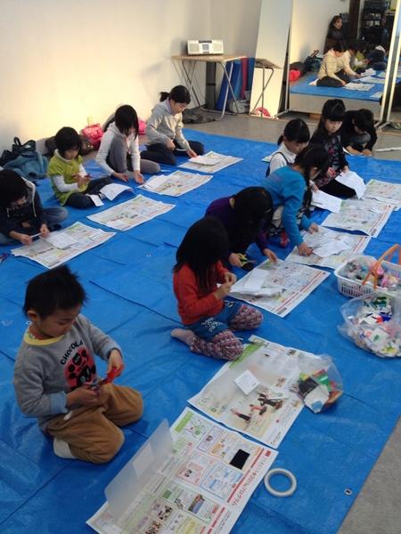 カレンダー作り〜東香里教室_f0215199_1657873.jpg