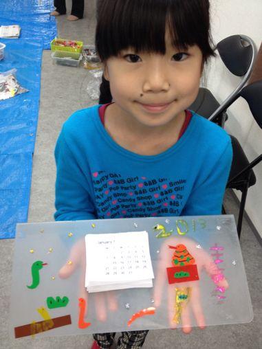 カレンダー作り〜東香里教室_f0215199_17201524.jpg