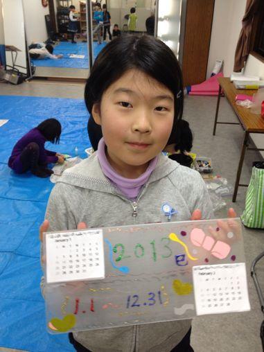 カレンダー作り〜東香里教室_f0215199_17231856.jpg
