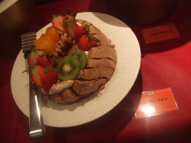 パレスホテル大宮 パルテール チョコレートスイーツブッフェ_f0076001_23255870.jpg