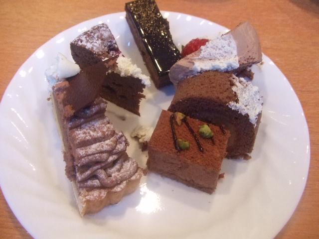 パレスホテル大宮 パルテール チョコレートスイーツブッフェ_f0076001_23395581.jpg