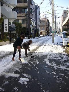 雪かき_a0123703_16541894.jpg
