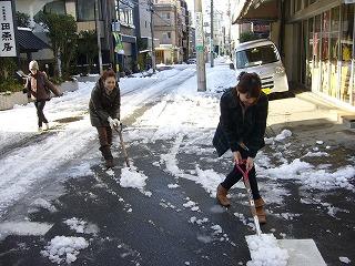 雪かき_a0123703_16545100.jpg