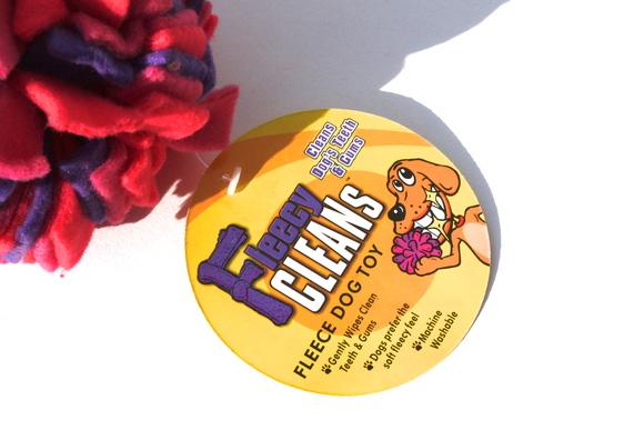 The Kyjen Fleecy Clean Balll カイジェン フリーシー クリーン ボール_d0217958_14581620.jpg