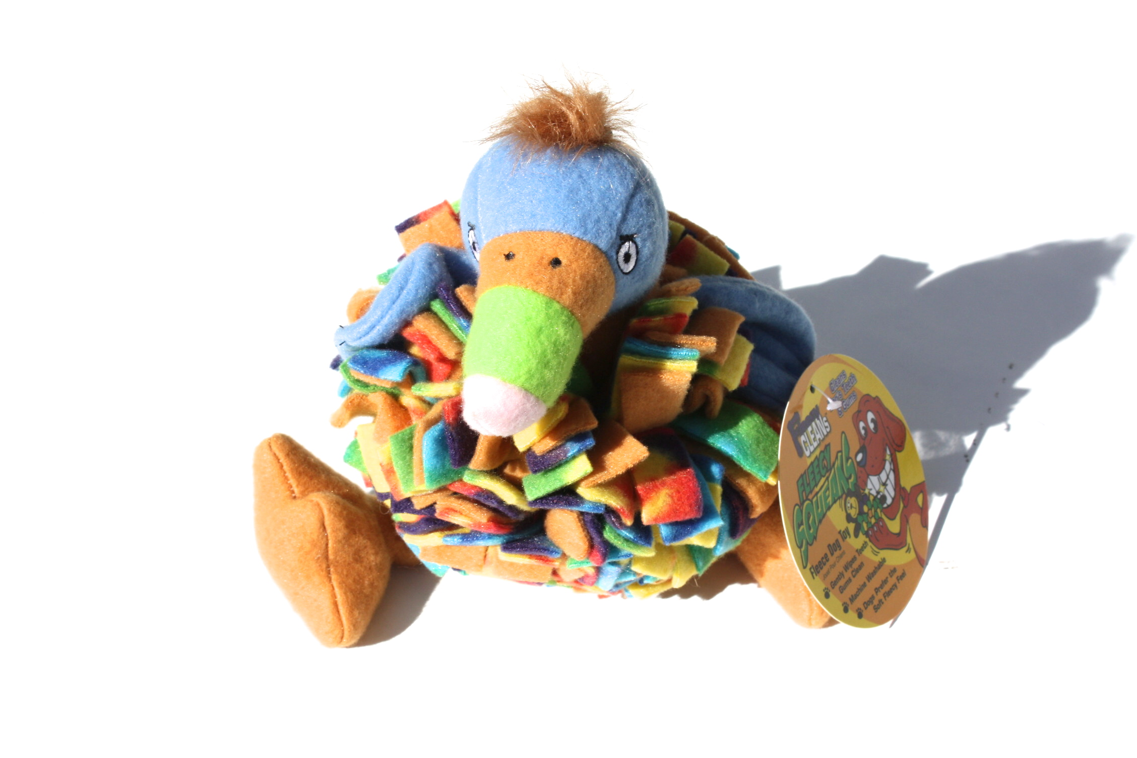 Fleecy Squeaks Dog Toy Toucan フリーシー スクイーカー ドッグトーイ  トゥーカン_d0217958_19123763.jpg
