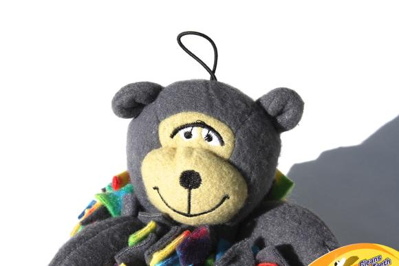 Fleecy Squeaks Dog Toy Gorilla フリーシー スクイーカー ドッグトーイ  ゴリラ _d0217958_19143676.jpg