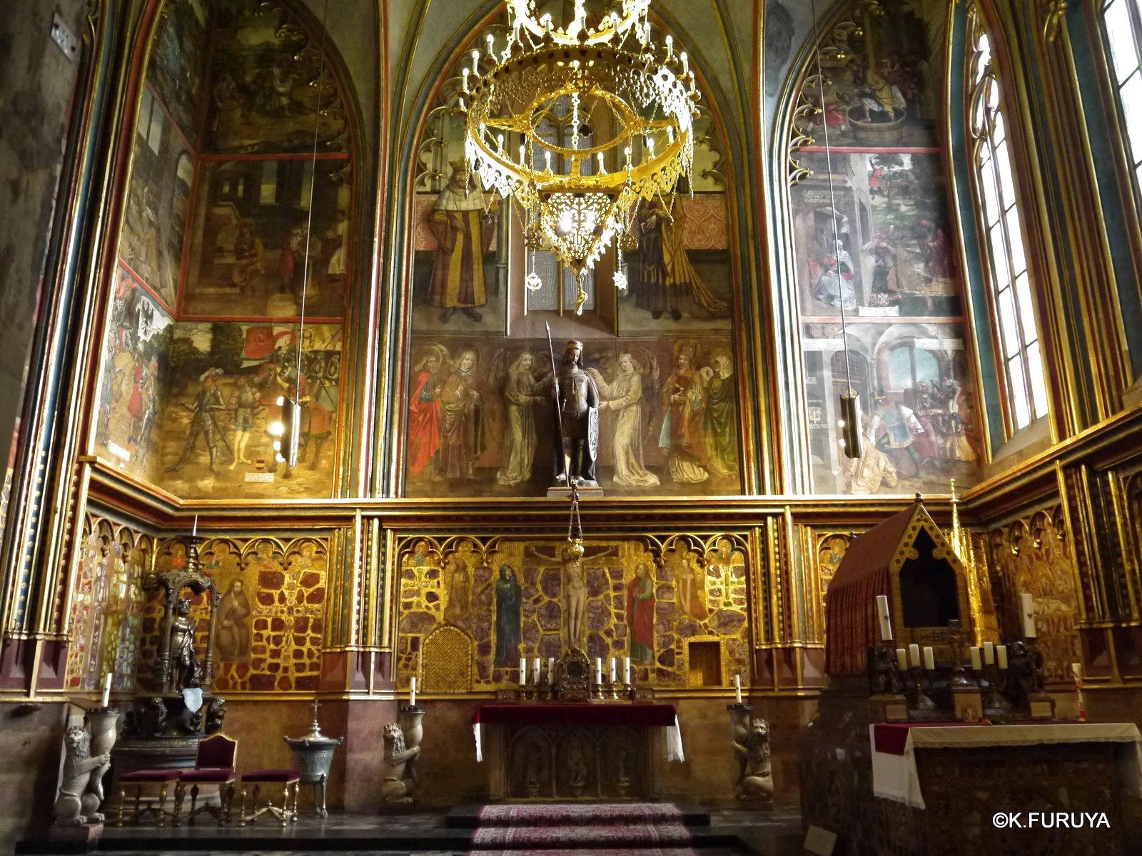プラハ 2  聖ヴィート大聖堂に感動!_a0092659_0541657.jpg