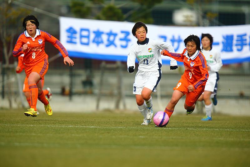 2013年 第16回全日本女子ユースサッカー選手権大会 2_f0095163_21521119.jpg