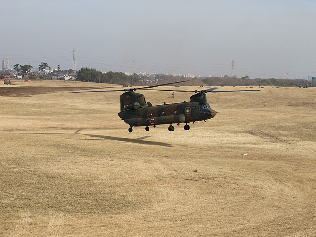 陸上自衛隊 第1空挺団 降下訓練始め その2 (1/13)_b0006870_23275686.jpg