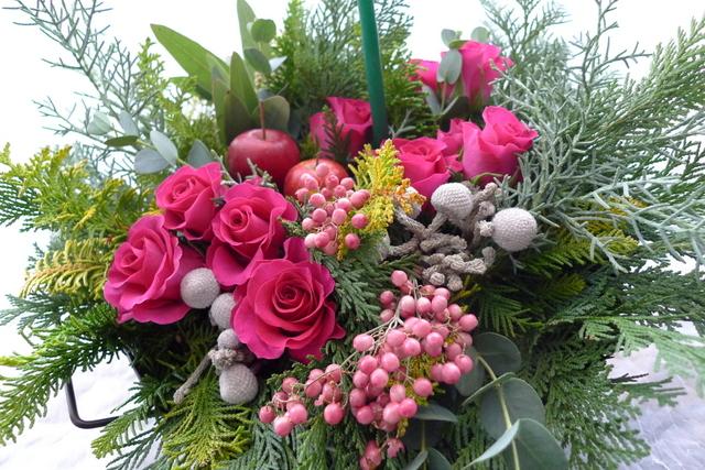 ご結婚の御祝&クリスマス_b0171193_1842093.jpg
