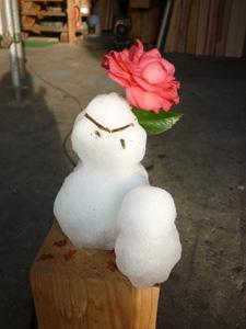雪だるま_f0140817_8574978.jpg