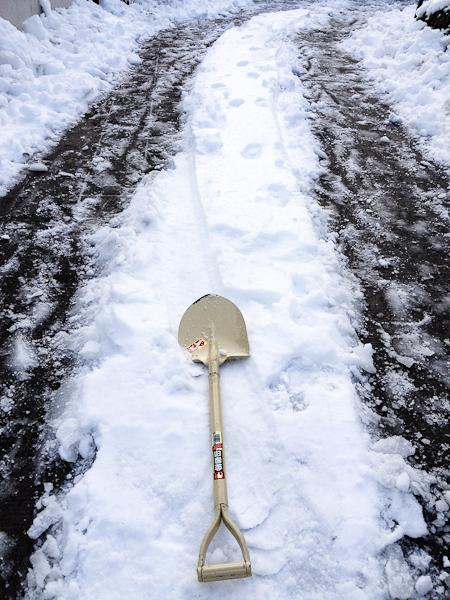 雪かき_c0162926_2291155.jpg