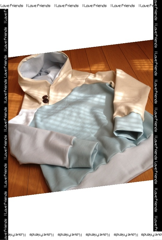 やっとの初縫い 春色モイフーディー_b0158137_18285592.jpg