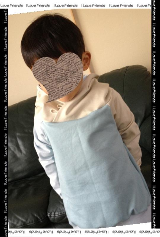 やっとの初縫い 春色モイフーディー_b0158137_1830877.jpg