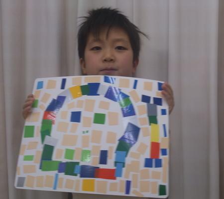 モザイクでデザインしよう☆松井山手教室_f0215199_1064568.jpg
