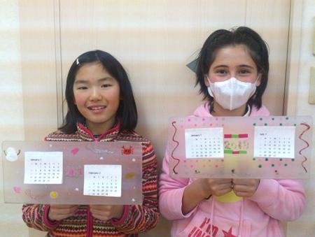 カレンダーをつくろう☆松井山手教室_f0215199_12485341.jpg