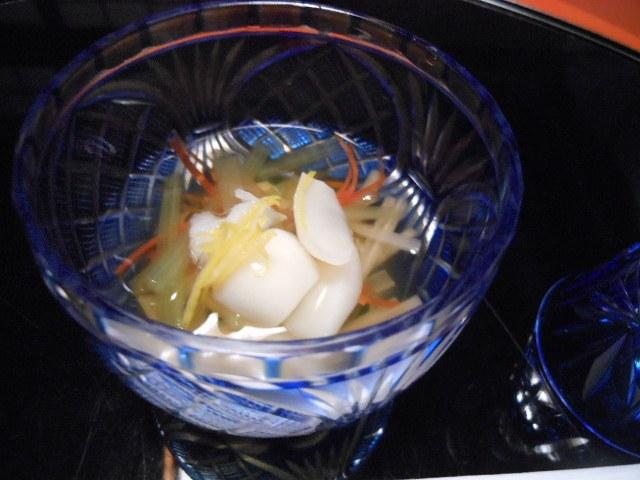 料理家・平野寿将さんの自家製からすみとか・トリュフご飯など・・・_a0075802_1158547.jpg