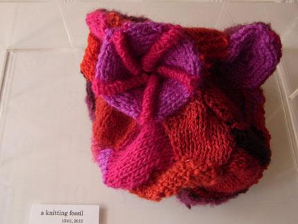 化石     a knitting fossil_b0029036_181310100.jpg