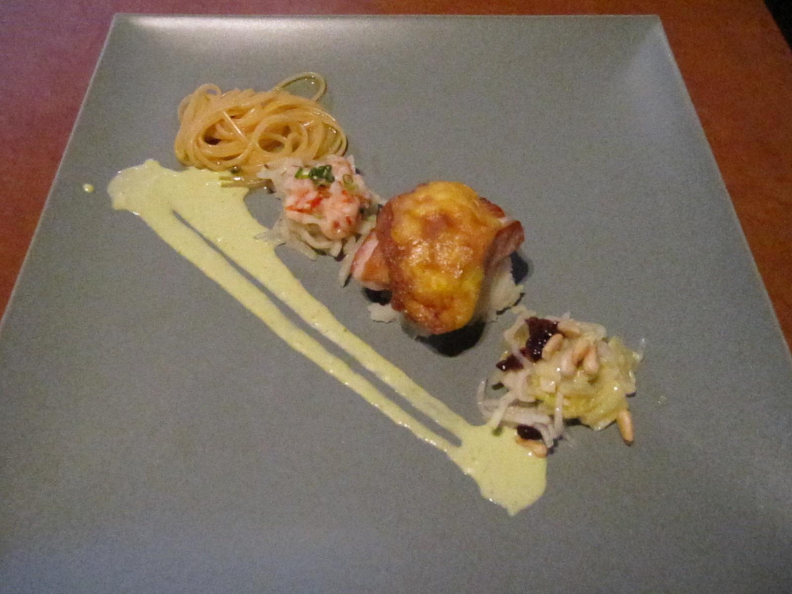 1月の料理「鶏と海老」_d0177560_23115382.jpg