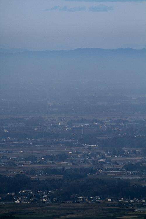 八木岡の白煙遠望 - 2013年新春・真岡 -  _b0190710_6495547.jpg